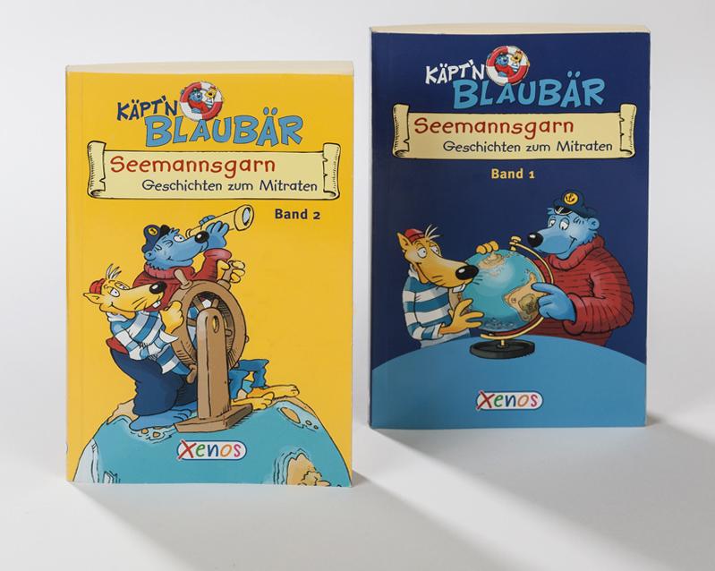 Softcover, Buchcover Blaubär