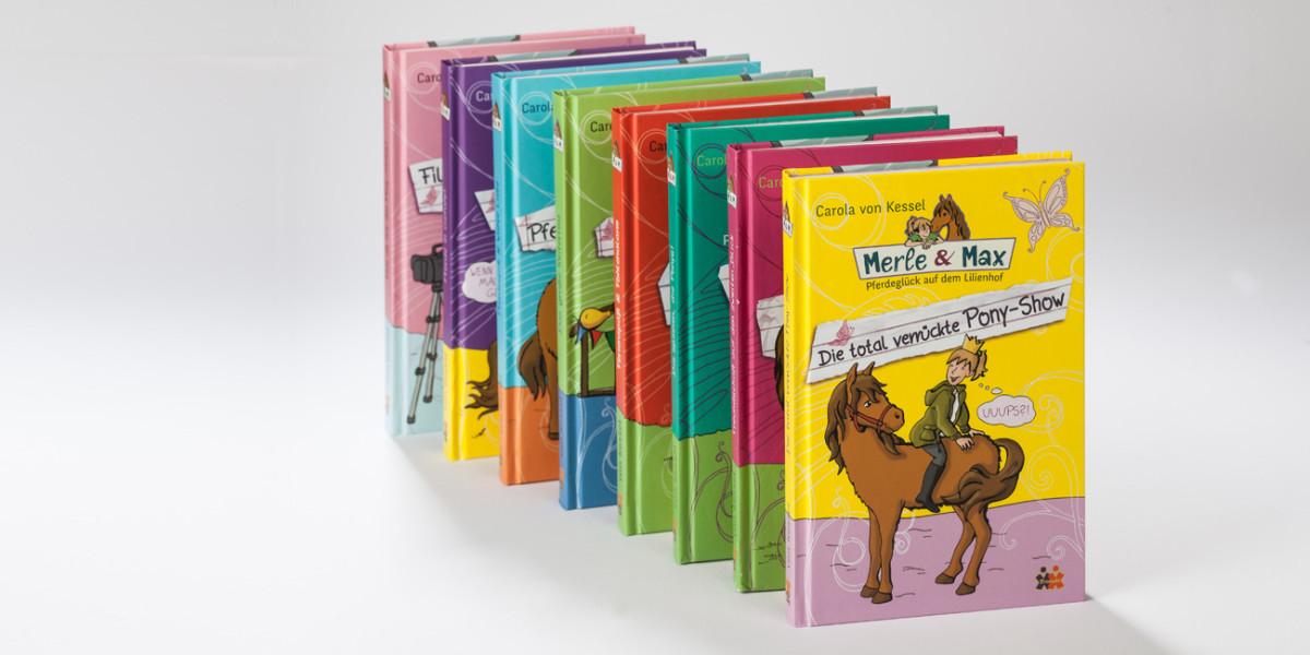 Buchgestaltung Kinder-Jugendbuchreihe