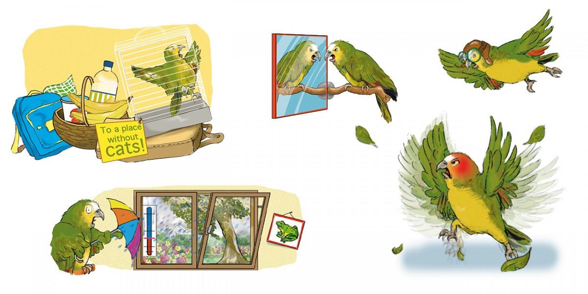Illustrationen für den Cornelsen Verlag