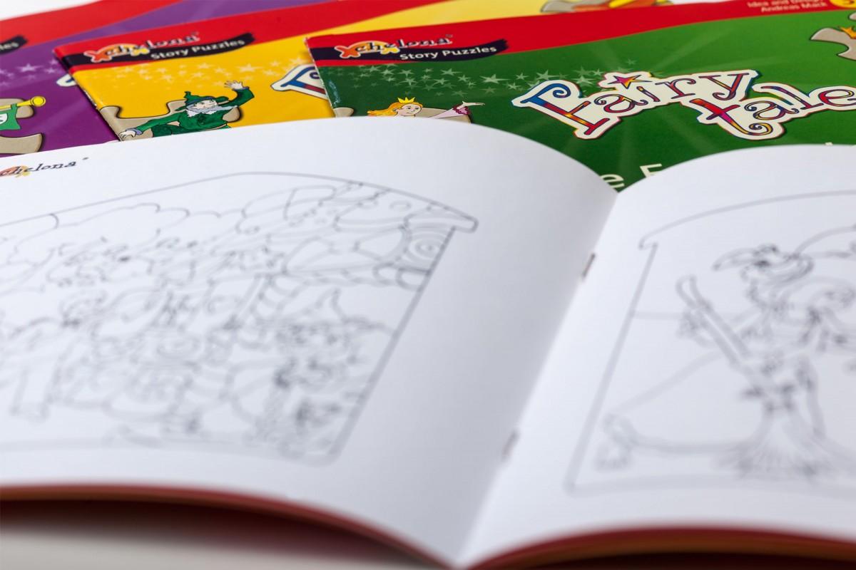 Booklet Gestaltung blatteins