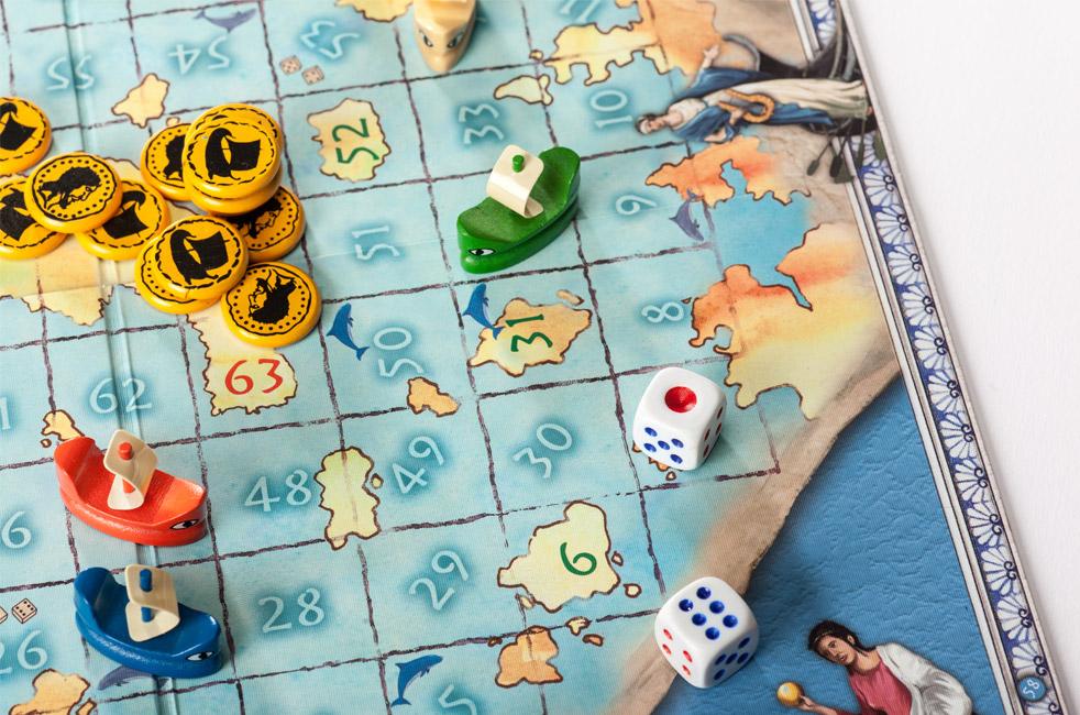 Familienspiel Würfelspiel Odysseas