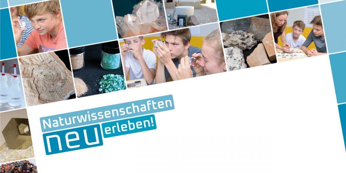 blatteins, Freiburg gestaltet für den mineralogischen Lehrkoffer im Auftrag der DMG, Tutsek Stiftung